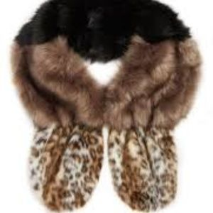 Leith Mixed Faux Fur Stole